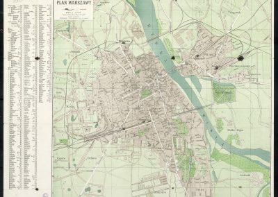Pharus Plan Warszawy 1915 r.