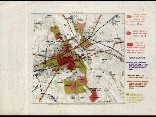 Powstanie Warszawskie – sytuacja na koniec września 1944 r.