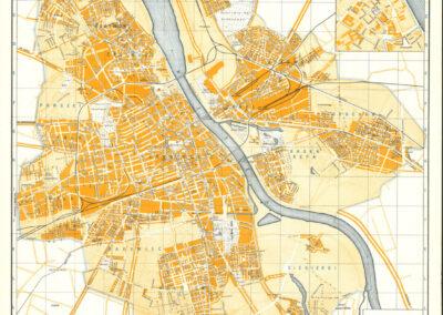 Plan Wielkiej Warszawy, A. Chmieliński, 1939/40 r.